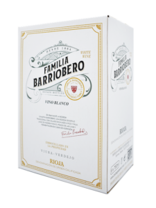 Caja FAMILIA BARRIOBERO vino verdejo