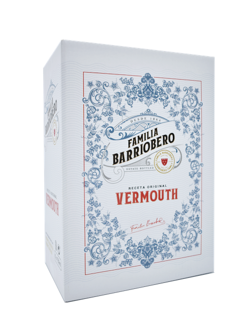 Caja FAMILIA BARRIOBERO vino Vermouth